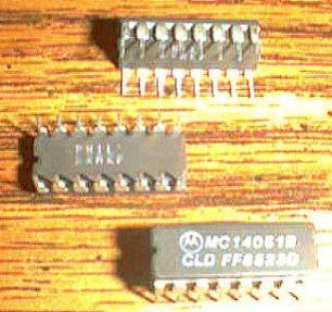 Lot of 20: Motorola MC14051B Pic 2