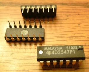 Lot of 25: Texas Instruments 4D2547P1
