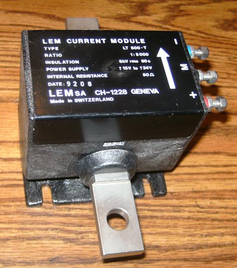 LEM LT 500-T Current Module