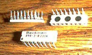 Lot of 25: Beckman 898-3-R220K Pic 2