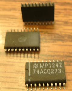 Lot of 10: National Semiconductor 74ACQ273