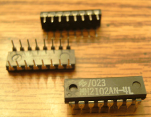 Lot of 20: National Semiconductor MM2102AN-4L