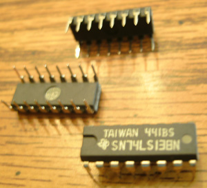Lot of 38: Texas Instruments SN74LS138N