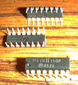 Lot of 3: Motorola MC10H350P Pic 2