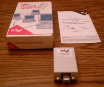 Intel 304711-001A UTP Media Filter for 16/4 TR networks Pic 1