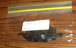 Lots of 100: Molex 015291025 CGRID SHUNT HSG TERM Pic 1