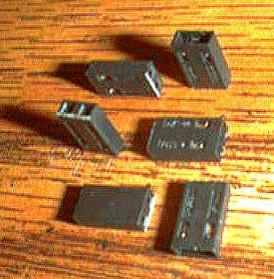 Lots of 100: Molex 015291025 CGRID SHUNT HSG TERM Pic 2