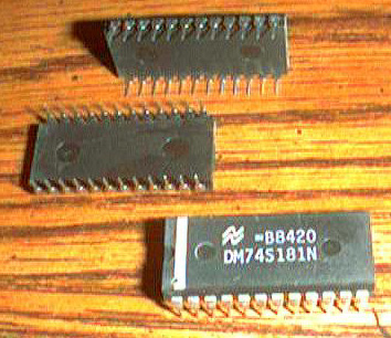 Lot of 15: National Semiconductor DM74S181N Pic 2