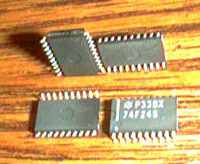 Lot of 37: National Semiconductor 74F245 Pic 2