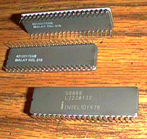 Lot of 8: Intel D8088
