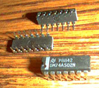 Lot of 12: National Semiconductor DM74AS02N Pic 2