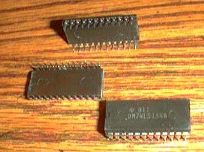 Lot of 15: National Semiconductor DM74LS154N Pic 2