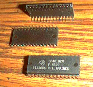 Lot of 13: Texas Instruments CF40102N Pic 2
