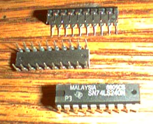 Lot of 22: Texas Instruments SN74LS240N Pic 2