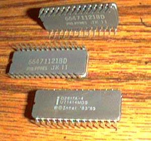 Lot of 9: Intel D2817A-4 Pic 2