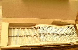 Lot of 400 (?): Xicon 1/8W 24.9K Ohm Metal Film Resistors