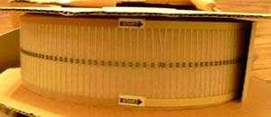 Lot of 5000 (?): Xicon 1/8W 34.8 Ohm Metal Film Resistors