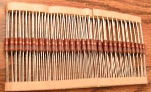 Lot of 100 (?): Multicomp RC1/2G182JT 1/2W 1.8K Ohm Resistors