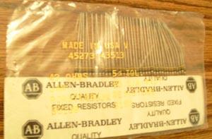 39: Allen Bradley RCR07G430JR : 1/4W 43 Ohm Resistors