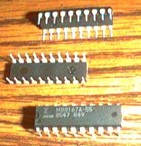Lot of 20: Fujitsu MB8167A-55 Pic 2
