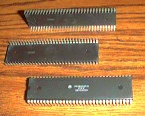 Lot of 5: Motorola MC68000P10 Pic 2