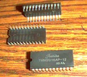 Lot of 7: Toshiba TMM2016AP-12 Pic 2