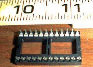 Lots of 100: New Burndy 24 Pin Sockets Pic 2