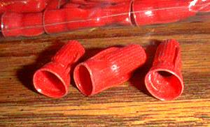 Lot of 100: Unused 3M RED Scotchloks :: 1980s era Pic 2