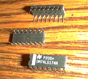 Lot of 25: National Semiconductor DM74LS174N Pic 2