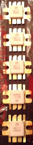 Lot of 5: Motorola MRF177 RF Power Field Effect Transistors