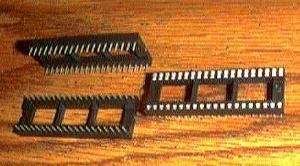 Lots of 55: Molex 42000-4030 :: 40 Pin IC Sockets Pic 2
