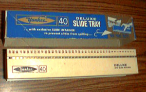 Lot of 3: YANKEE 40 Slide Trays with Slide Retainers Pic 2