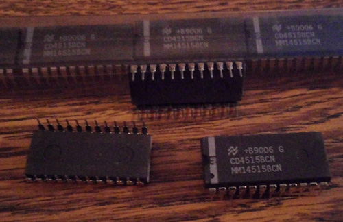 Lot of 15: National Semiconductor MM14515BCN