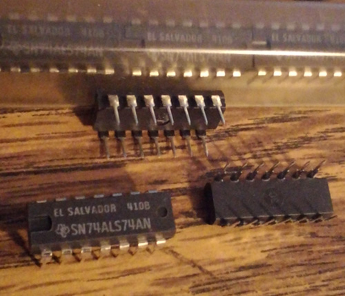 Lot of 50: Texas Instruments SN74ALS74AN