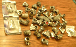 Lot of 44: Flex Conduit Connectors