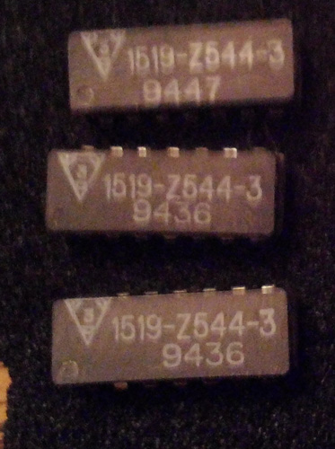 Lot of 3: Data Delay Devices 1519-Z544-3 Delay Line