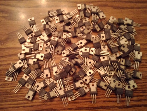 Lot of 130: National Semiconductor LM7912CT