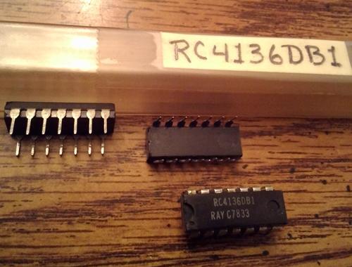 Lot of 10: Raytheon RC4136DB1
