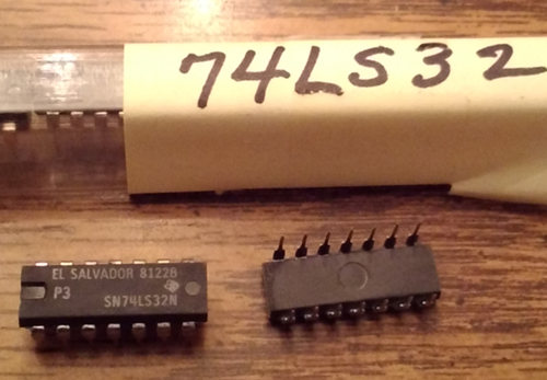Lot of 9: Texas Instruments SN74LS32N