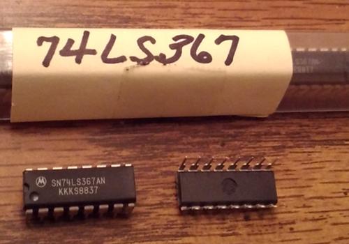 Lot of 7: Motorola SN74LS367AN