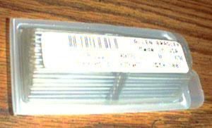 100: Allen Bradley RC07GF511J : 1/4W 510 Ohms Resistors Pic 1