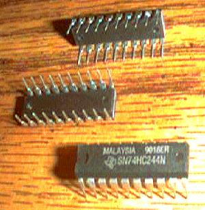 Lot of 20: Texas Instruments SN74HC244N Pic 2