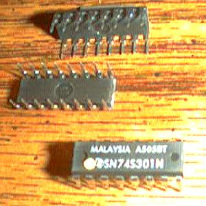 Lot of 25: Texas Instruments SN74S301N Pic 2