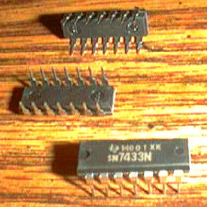Lot of 25: Texas Instruments SN7433N Pic 2