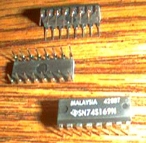 Lot of 16: Texas Instruments SN74S169N Pic 2