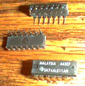 Lot of 11: Texas Instruments SN74ALS11AN Pic 2