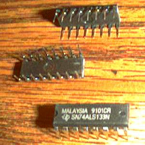 Lot of 25: Texas Instruments SN74ALS133N Pic 2