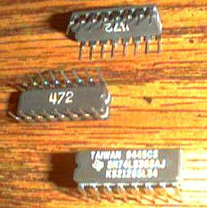 Lot of 25: Texas Instruments SN74LS368AJ KS21285L34 Pic 2
