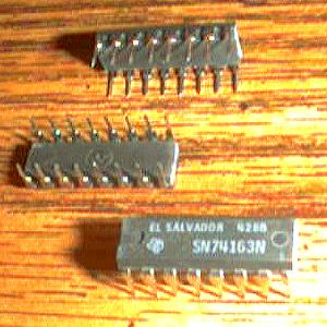 Lot of 22: Texas Instruments SN74163N Pic 2
