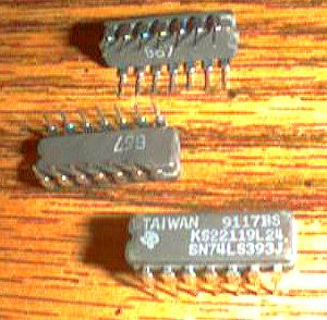Lot of 20: Texas Instruments SN74LS393J  KS22119L24   Pic 2